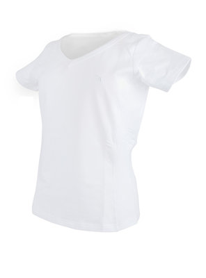 Stretch T-shirt V-neck