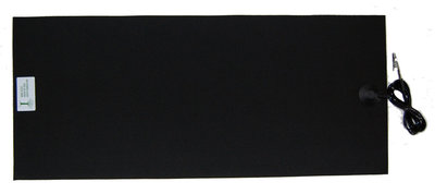 "Earthing mat 31 x 62 cm (24,4"" x 12,2"") with connection cable (3,6 meter / 12 ft)"